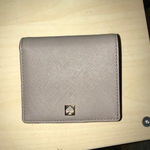 Kate spade small billfold wallet